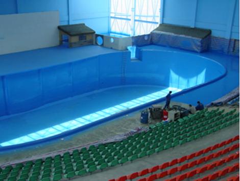 泳池聚脲fang水喷涂